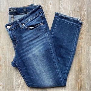 LUCKY BRAND | Lolita Skinny Raw Hem Ankle Jeans